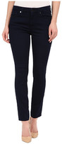 7 For All Mankind The Ankle Skinny w/ Contour Waistband in Featherweight Rich Blue
