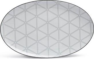 Vista Alegre Orquestra large oval platter (39.3cm)