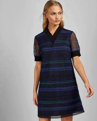 Ted Baker ESTELLY Lace A line tunic dress