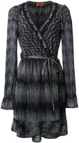 Missoni wrap dress - women - Polyester/Cupro/Viscose - 42