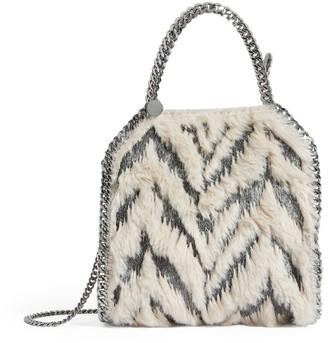Stella McCartney Faux Fur Falabella Tiny Tote Bag