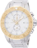 Invicta Men's 12307 Pro Diver Chronograph Textured Dial Stainless Steel Watch