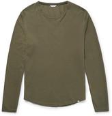Orlebar Brown - Michael Waffle-knit Cotton T-shirt