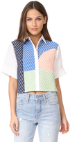 Mara Hoffman Weave Button Up Shirt