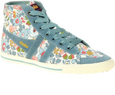 Liberty Quota Betsy Blue High Top Sneakers