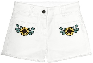 Stella Mccartney Kids Stretch-denim shorts