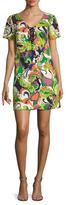 Trina Turk Yuna Cotton Printed Shift Dress