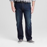 Mossimo Men's Big & Tall Straight Fit Jeans Dark Vintage Wash