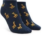 Forever 21 FOREVER 21+ Giraffe Ankle Socks