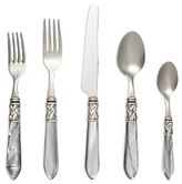 Vietri Aladdin Antique Light Gray 5-Piece Place Setting