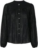 Closed metallic detail shirt