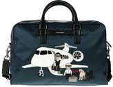 Dolce & Gabbana Weekend Bag With Patch Family