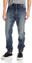 Calvin Klein Jeans Men's Jogger Laser Destruction Jean