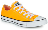 Converse Chuck Taylor All Star Seasonal Color women's Shoes (Trainers) in Yellow