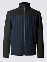 Blue Harbour Thinsulatetm Textured Long Sleeve Fleece Top