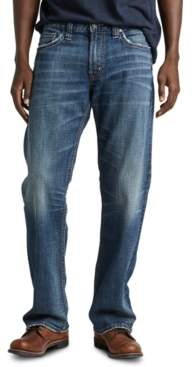 Silver Jeans Co. Men's Zac Relaxed-Straight Fit Stretch Jeans