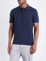 HUGO BOSS Embossed logo stretch-cotton polo shirt