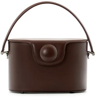 A.Cloud Hal Circle Dot Bucket Bag - Chocolate