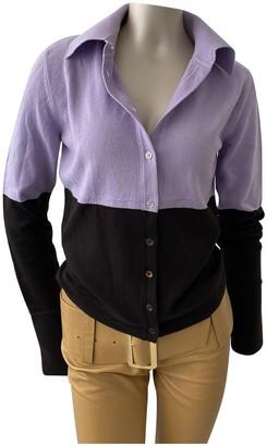 Valentino Purple Cashmere Top for Women Vintage