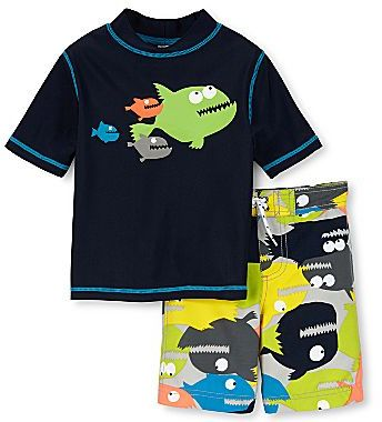 Carter's 2-pc. Rashguard Swim Set - Boys 3m-24m