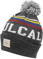 Soul Cal SoulCal Mens Logo Bobble Hat Beanie Stripe Warm Striped Knitted Brightly