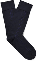 John Smedley - Sea Island Cotton-blend Socks