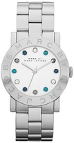 Marc by Marc Jacobs MBM3140 Color Crystals Amy Silver Womens Watch
