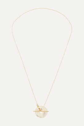 Mother of Pearl Loren Stewart - 14-karat Gold Mother-of-pearl Necklace - one size