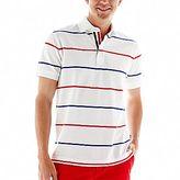 Wilson Stafford Prep Allover-Stripe Polo Shirt