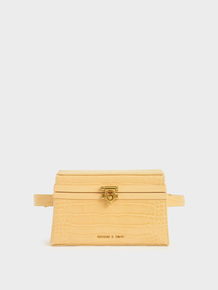 Charles & Keith Trapeze Belt Bag