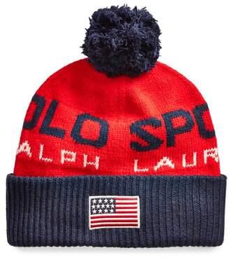 Ralph Lauren Polo Sport Colour-Blocked Hat