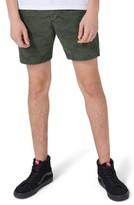 Topman Men's Camo Skinny Fit Chino Shorts