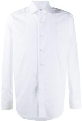 Tagliatore Regent stand up collar shirt