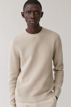 Cos Textured Knit Sweater