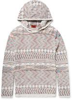 Missoni - Crochet-knit Cotton Hoodie