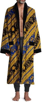 Versace Baroque Cotton Terry Bathrobe