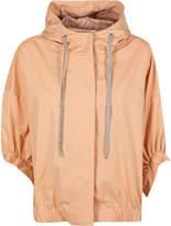 Fabiana Filippi Concealed Fastening Cropped Hooded Jacket