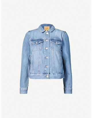 Paige Rowan cotton-blend denim jacket