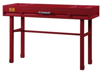 ACME Furniture ACME Cargo Container Style Metal Vanity Desk, Multiple Colors