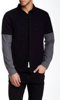 NATIVE YOUTH Solid Long Sleeve Trim Fit Shirt