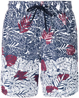 Z Zegna palm print swim shorts - men - Polyester - M