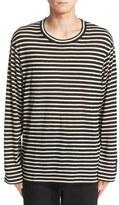 Yohji Yamamoto Stripe Wool T-Shirt