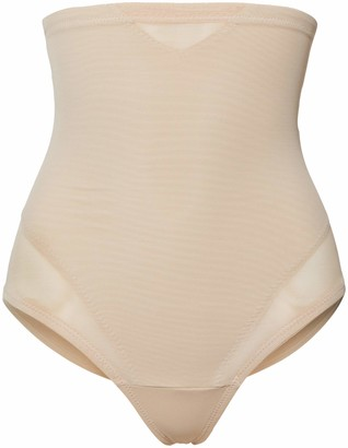 Miraclesuit Women's String Taille Haute Nude-Sexy Sheer Shaping G Panties S