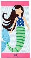Pottery Barn Kids Mermaid Kid Beach Towel