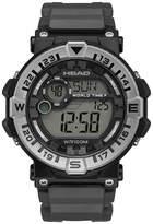 Head Unisex Black Strap Watch-He-109-03