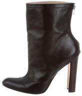 Manolo Blahnik Round-Toe Ankle Boots