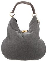 Marni Wool & Leather Hobo