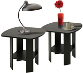 Furinno Espresso End Table - Set of Two