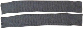 Lemaire Khaki Wool Gloves