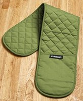 The Lakeside Collection Green Cuisinart Double Oven Mitt Pot Holder